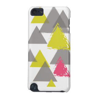 Grey + Lime + Pink iPod Touch 5G Cover