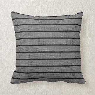 Grey Lines Decor-Soft Modern#1a Pillows