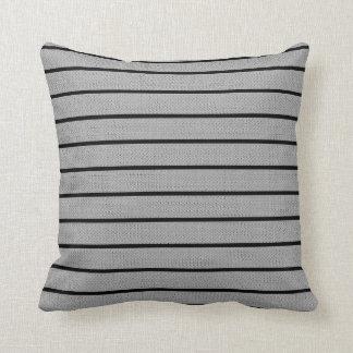 Grey Lines Decor-Soft Modern#2b Pillows
