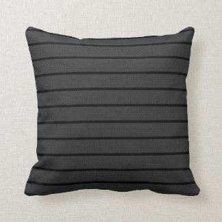 Grey Lines Decor-Soft Modern#3c Pillows