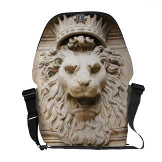 Grey lion from Florance Messenger Bag