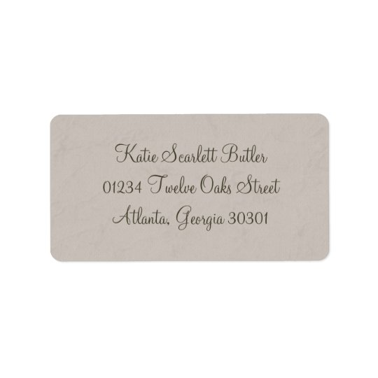 Grey Little Prince Baby Shower Address Labels
