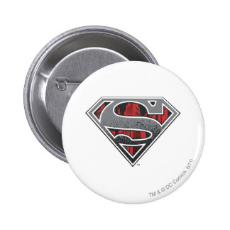 Grey Logo and Red City 6 Cm Round Badge