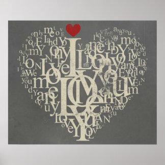 Grey Love Poster