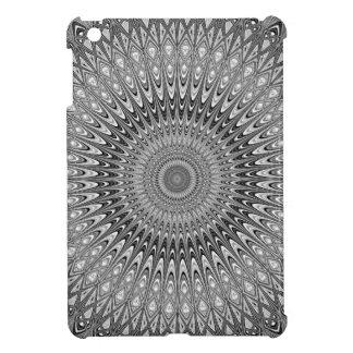 Grey mandala iPad mini covers