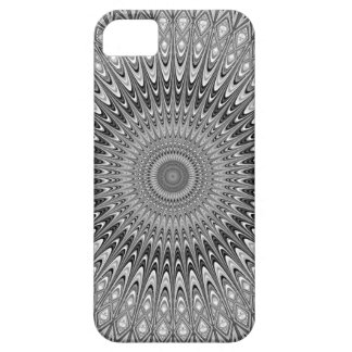 Grey mandala iPhone 5 cover