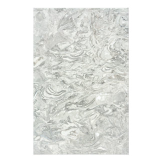 Grey marble surface pattern flyer