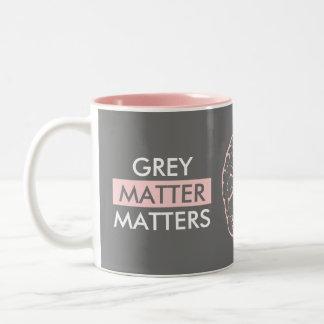 Grey Matter Matters Two-Tone Coffee Mug