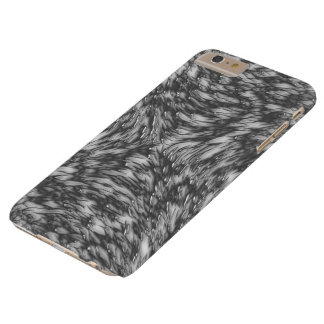 Grey Metal Rough Surface Barely There iPhone 6 Plus Case