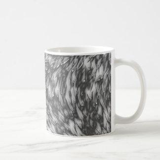 Grey Metal Rough Surface Coffee Mug