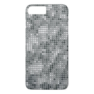 Grey Microdots iPhone 7 Plus Case