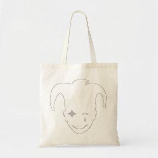 Grey MTJ Budget Tote Bag