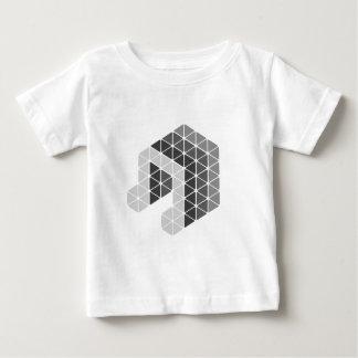 Grey Music Note Baby T-Shirt