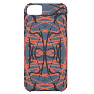 Grey/Orange/Black iPhone 5C Case