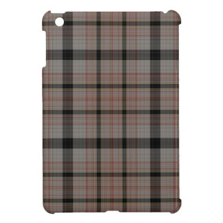 Grey Orange Brown Tartan Plaid Cover For The iPad Mini