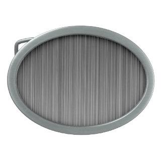 Grey Oval Belt Buckle