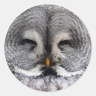 Grey Owl Classic Stickers