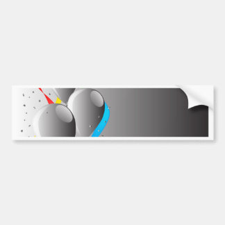Grey Party Bumper Sticker