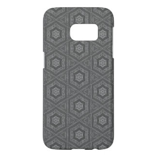 Grey pattern Android case