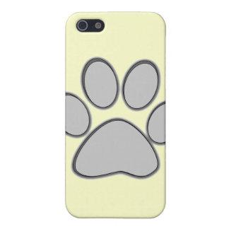Grey Paw iPhone Case iPhone 5 Case