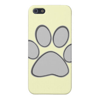 Grey Paw iPhone Case iPhone 5 Covers