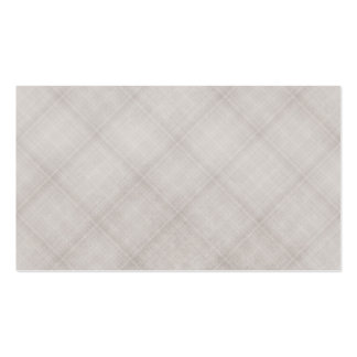 Grey Plaid Background Business Card Template