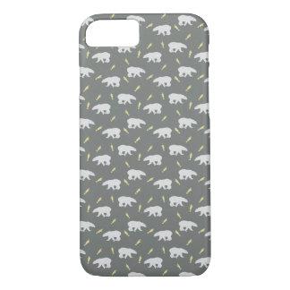 Grey Polar Bear Handycase iPhone 7 Case
