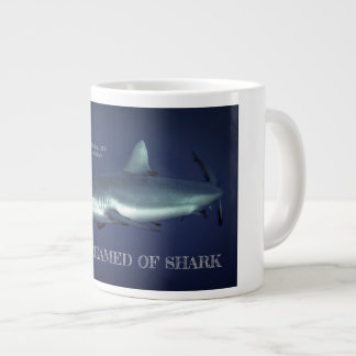 Grey Reef Shark in Yap Micronesia Large Coffee Mug