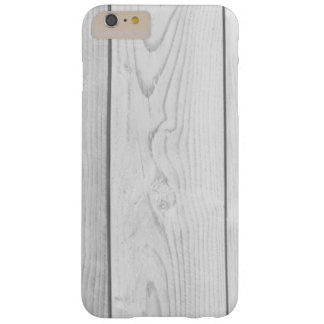 Grey Retro Wooden Hardwood Planks iPhone Case