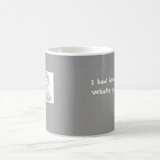 grey ribbon, I had brain surgery.What's your ex... Coffee Mug