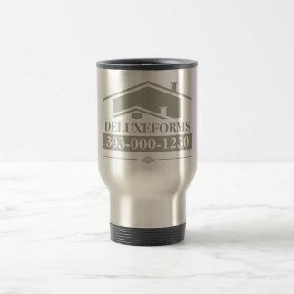 Grey Roof Travel Mug