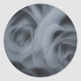 Grey Roses Stickers