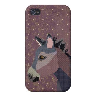 Grey s Donkey Purple iPhone iPhone 4 Case