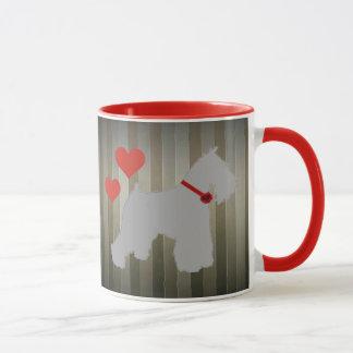 Grey (Salt and Pepper) Schnauzer Coffee Mug