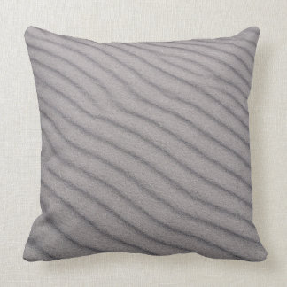 Grey sand texture cushion