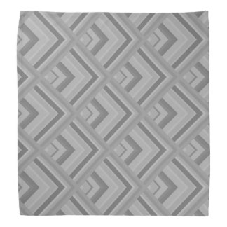 Grey scale pattern bandana