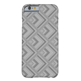 Grey scale pattern barely there iPhone 6 case