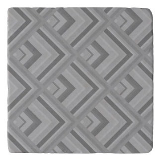 Grey scale pattern trivet