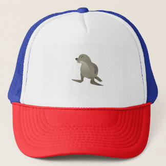 Grey Seal Trucker Hat