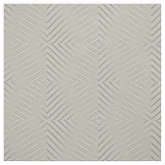 Grey Silver Curved Lines Chic abstract flow fabric