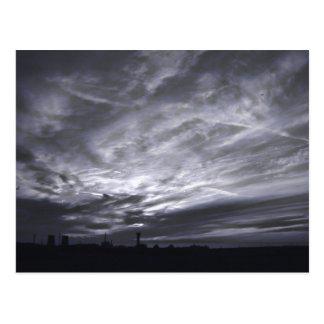 Grey Skies | Postcard