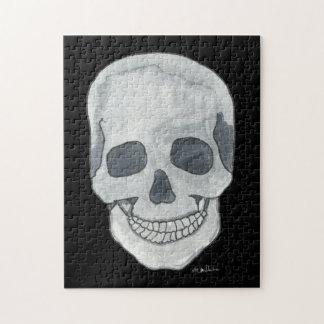 Grey Skull 11x14 Photo Puzzle