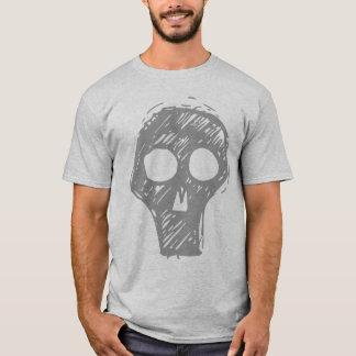 Grey Skull Grey T-Shirt
