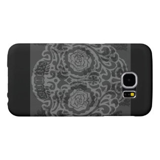 Grey Skull Samsung Galaxy S6 Cases
