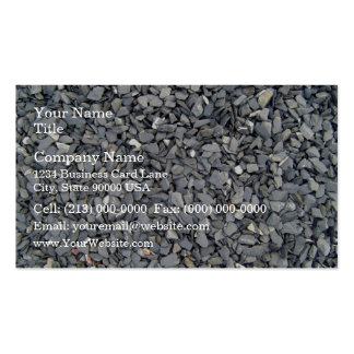 Grey Slate Chips Texture Pack Of Standard Business Cards