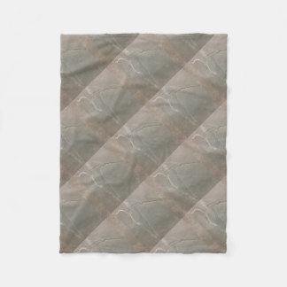grey slate stone fleece blanket