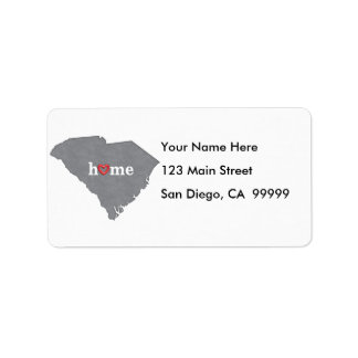 Grey SOUTH CAROLINA Home & Open Heart Label