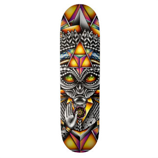 Grey Spirit of the Pineal Skateboard Decks