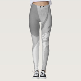 Grey Splash. Leggings