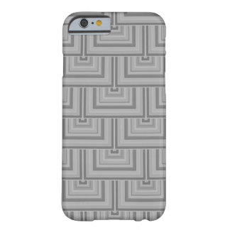 Grey square scales barely there iPhone 6 case